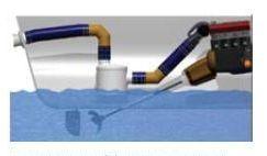 Application de l'échappement Vernalift au-dessus du niveau d'eau.