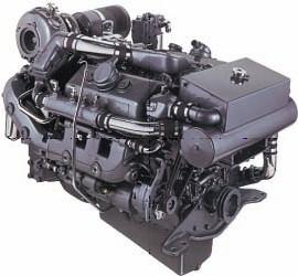 Moteur Détroit Diesel vendu par le magasin d'équipement nautique.