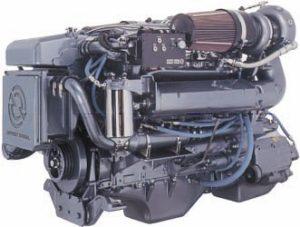 Un moteur par Detroit Diesel.