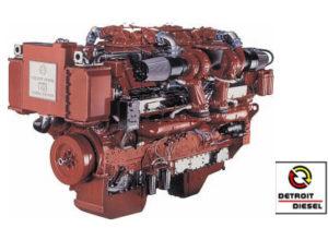Moteur en vente au magasin de nautisme, moteur et pièces détachées Détroit Diesel.