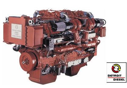 Detroit Diesel, moteurs et pièces