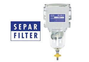 Filtre SEPAR standard.
