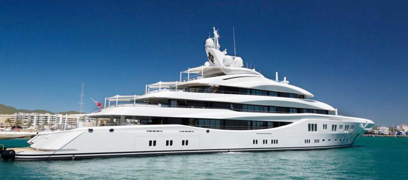 Groupe électrogène silencieux pour yacht.